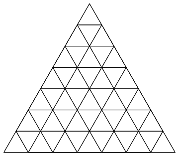 How To Draw A Triangular Grid Of Length N In Mathematica on Printable Tessellations